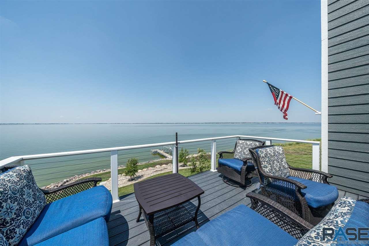 ASRE Lake Poinsett Executive Home Backyard Deck
