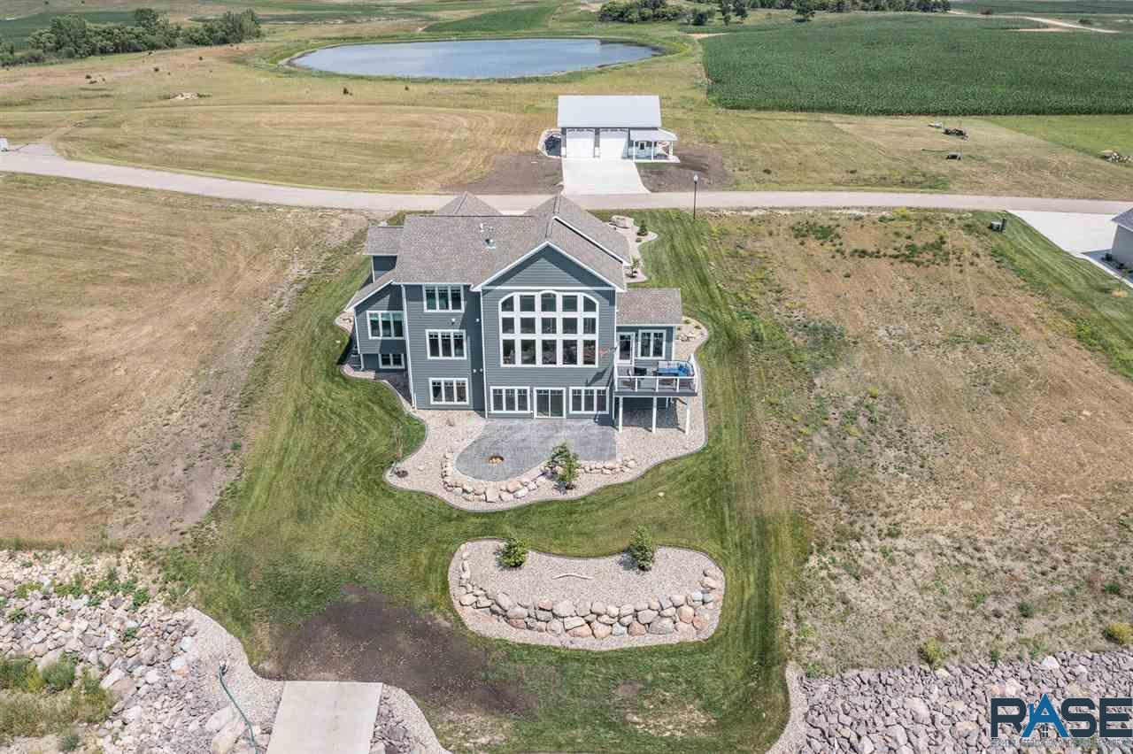 ASRE Lake Poinsett Executive Home Exterior Aerial View